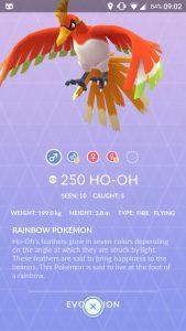 Pokemon GO Ho-Oh 3D