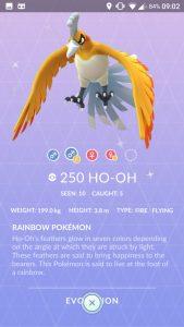Pokemon GO Ho-Oh 3D Shiny