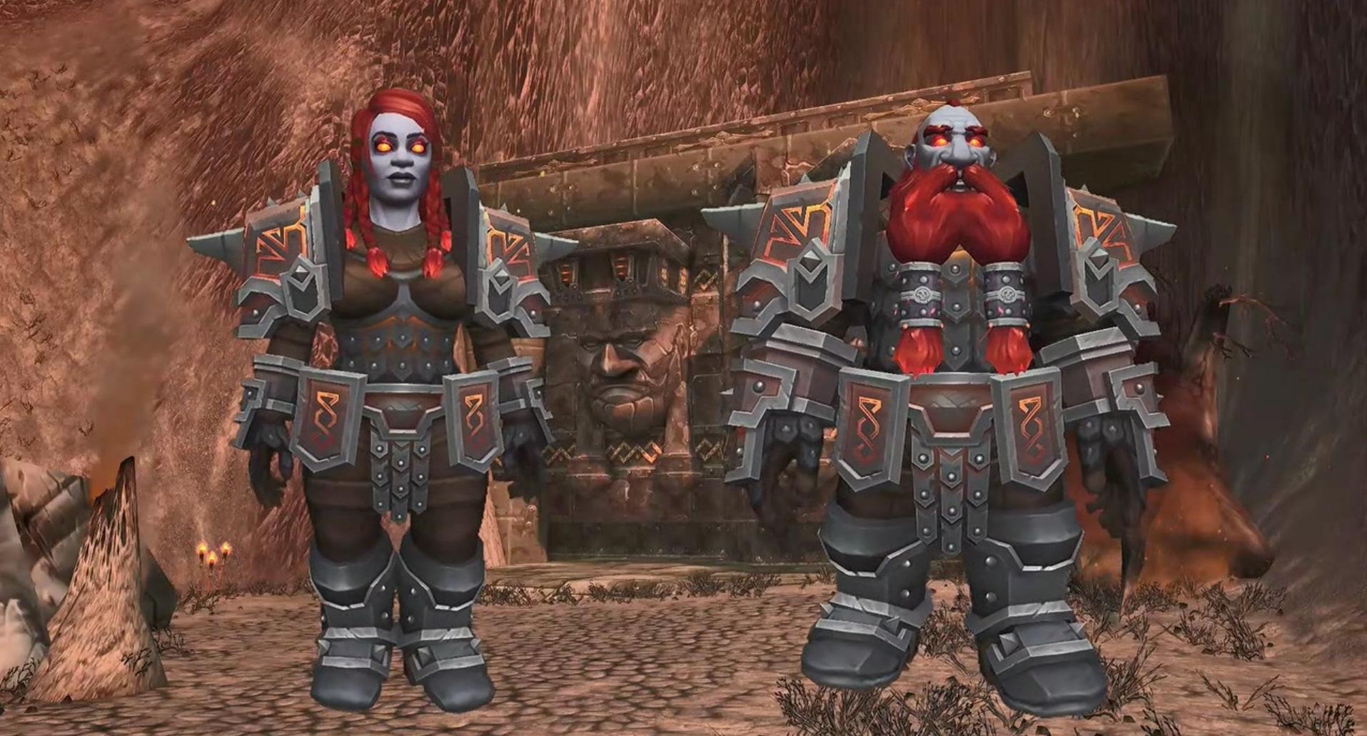 WoW Battle for Azeroth Dark Iron