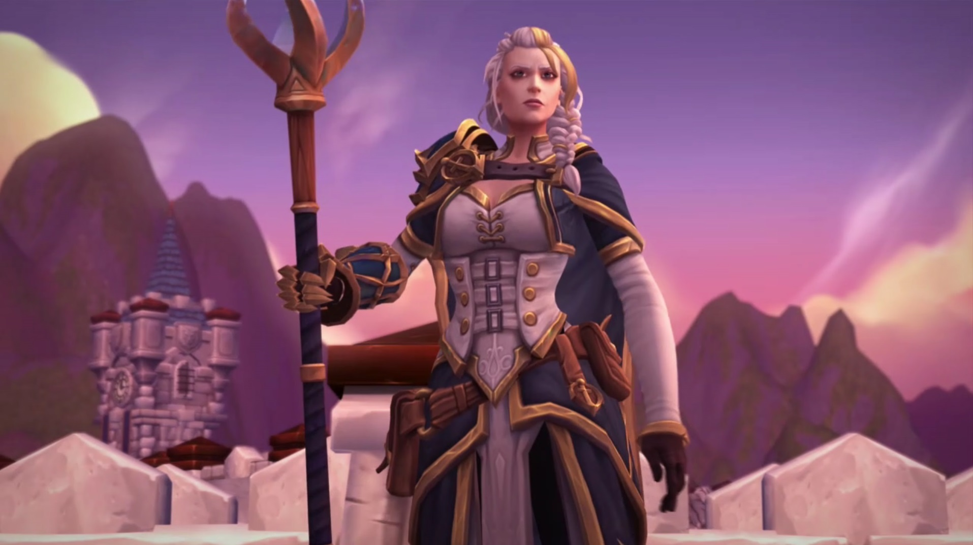 WoW Battle for Azeroth Jaina