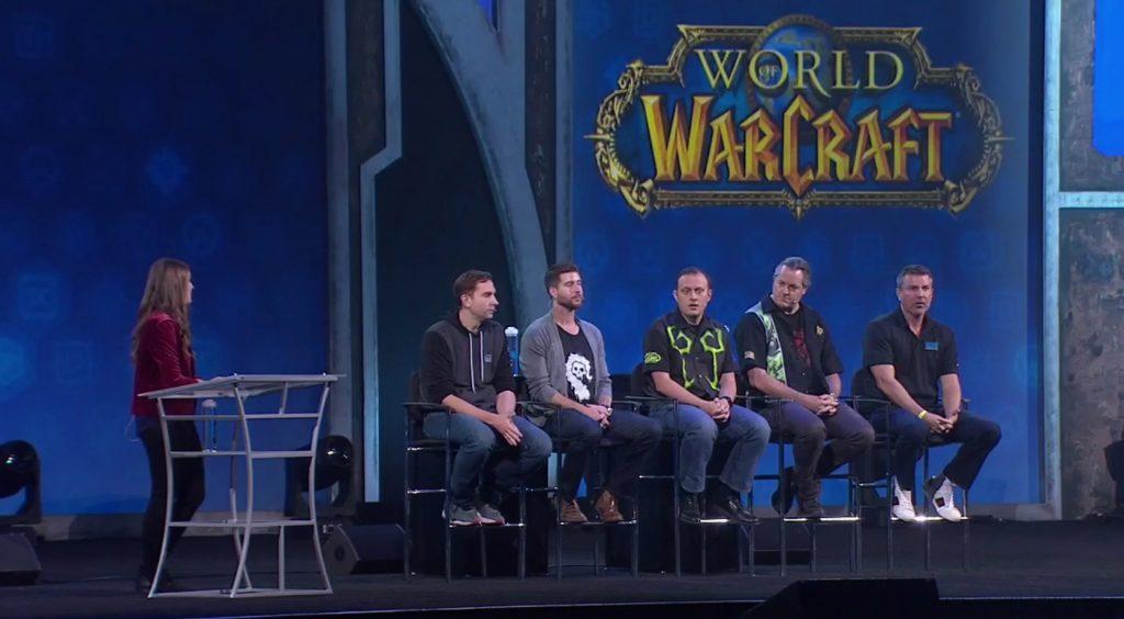WoW QA Panel Developers Blizzcon