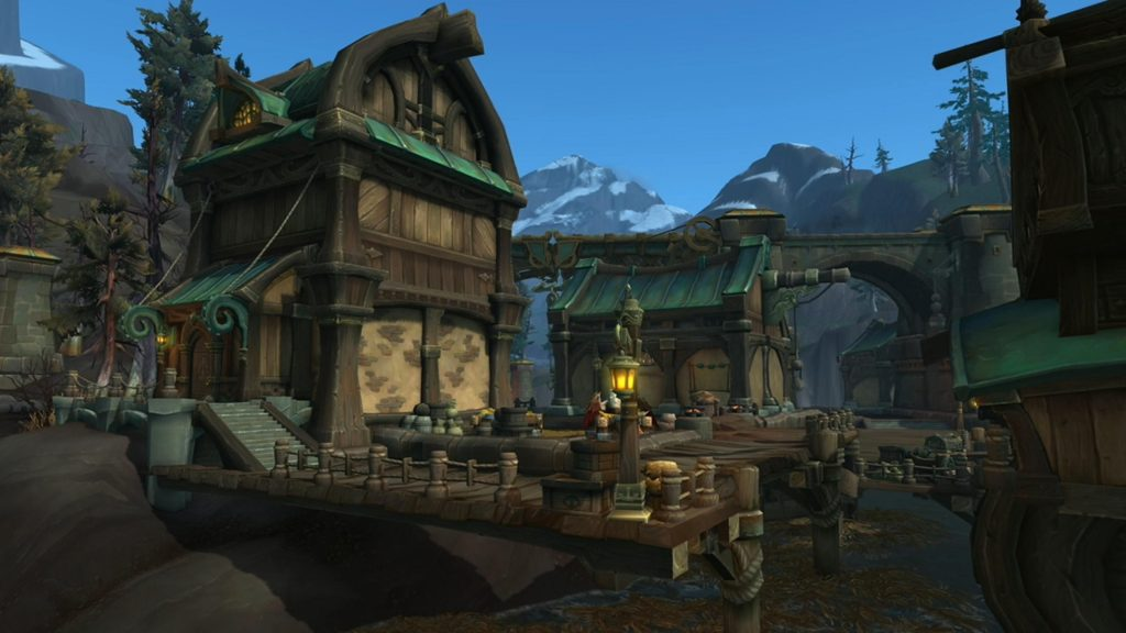 WoW Stormsong Valley Buildings