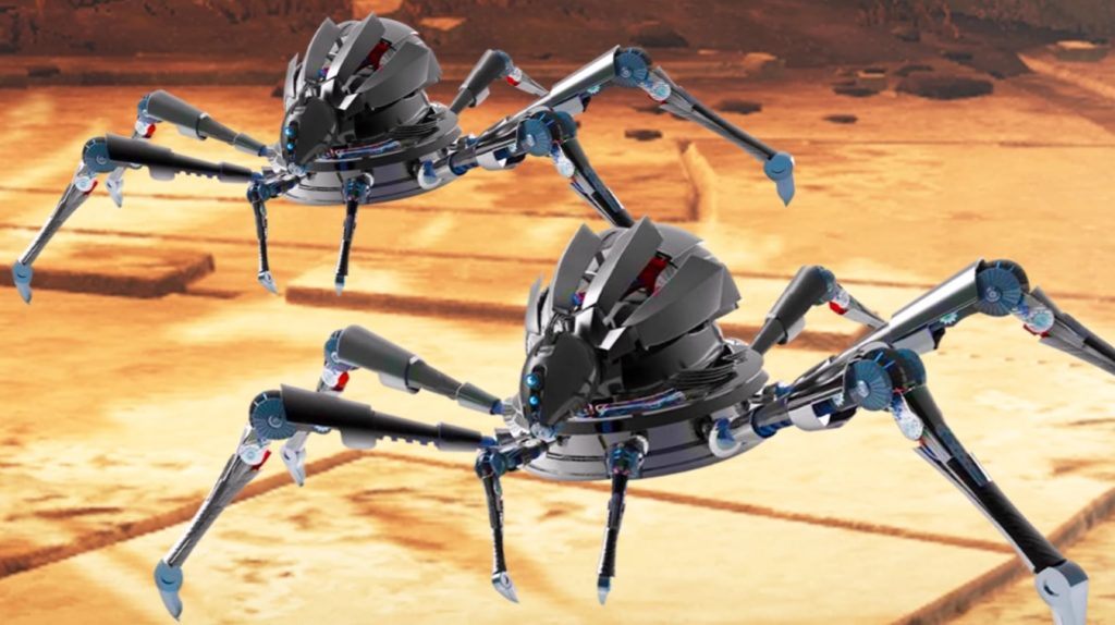 roboter-spinnen