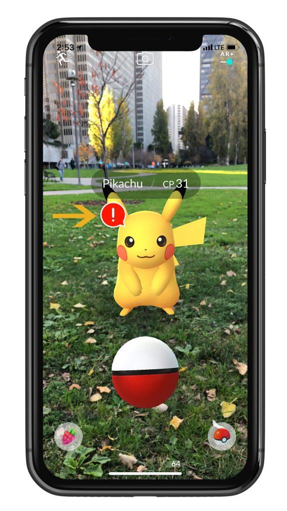 Pokémon GO Bewusstsein