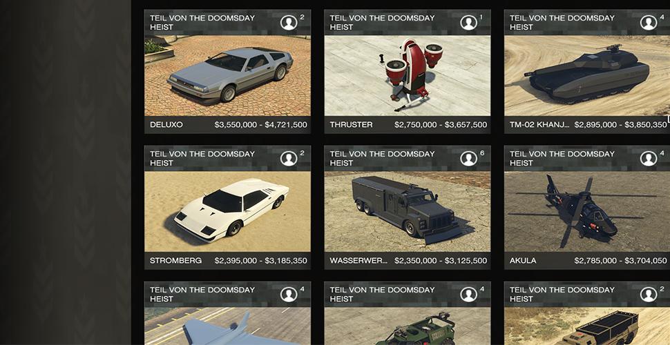 Gta Online Update New Cars