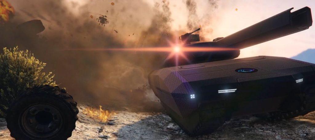 GTA 5 Online Panzer