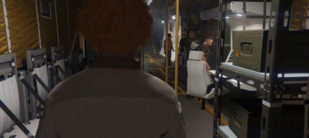 GTA 5 Online fliegende Kommandozentrale