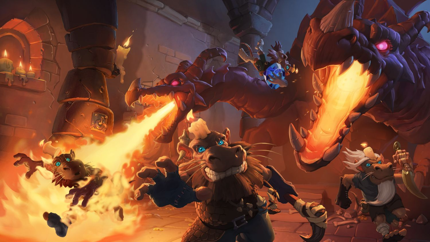 Hearthstone Kobolde und Katakomben Art Cinematic