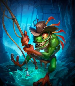 Hearthstone Kobolds and Catacombs Murloc Tad