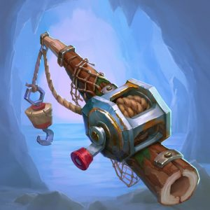 Hearthstone Kobolds and Catacombs Murloc Tads Pole