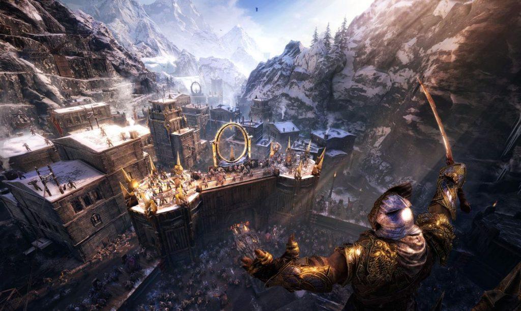 Herr der Ringe Schatten des Krieges Orc Feste