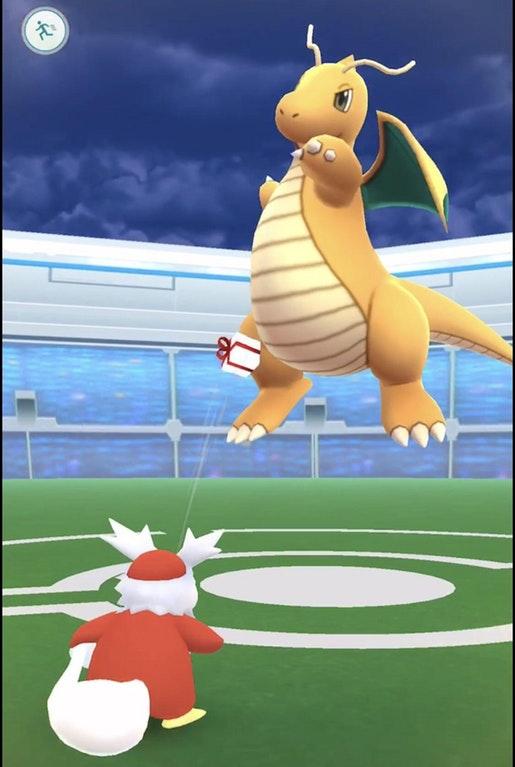 Pokémon GO Geschenk-Animation