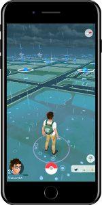 Pokémon GO Wetter regnerisch