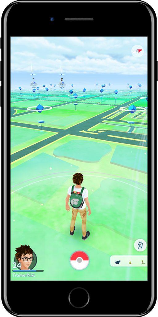 Pokémon GO Wetter windig
