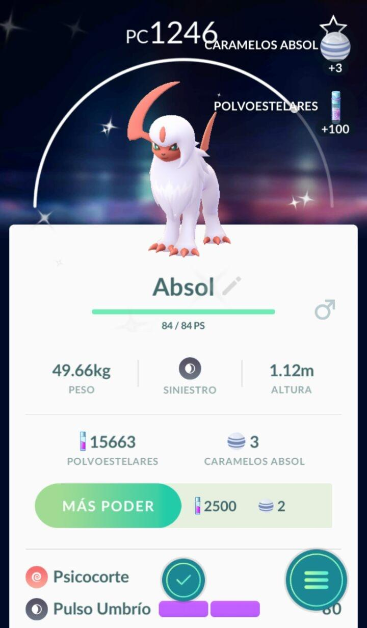 how to get absol pokemon go
