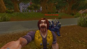 WoW World of Warcraft Starter Edition Selfie Kamera Mensch