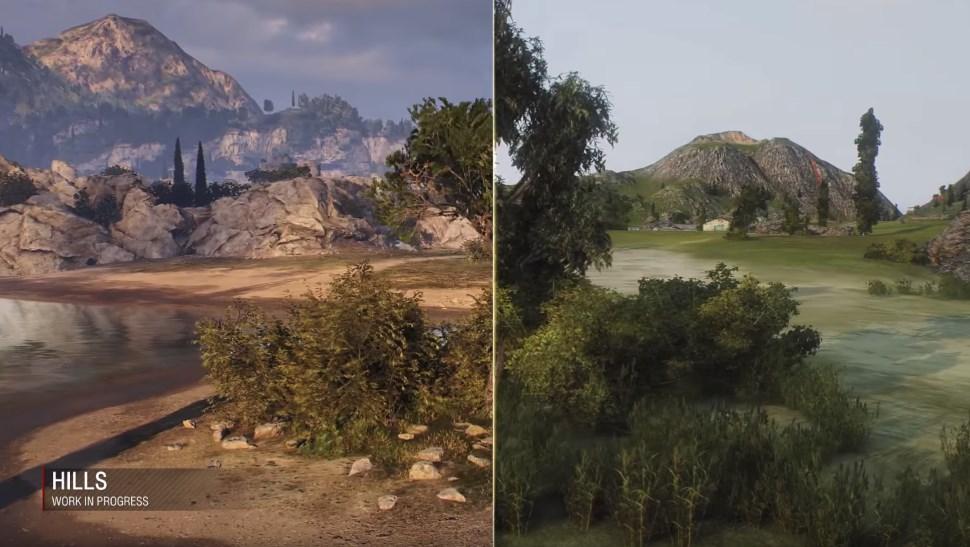 World of Tanks Cliffs