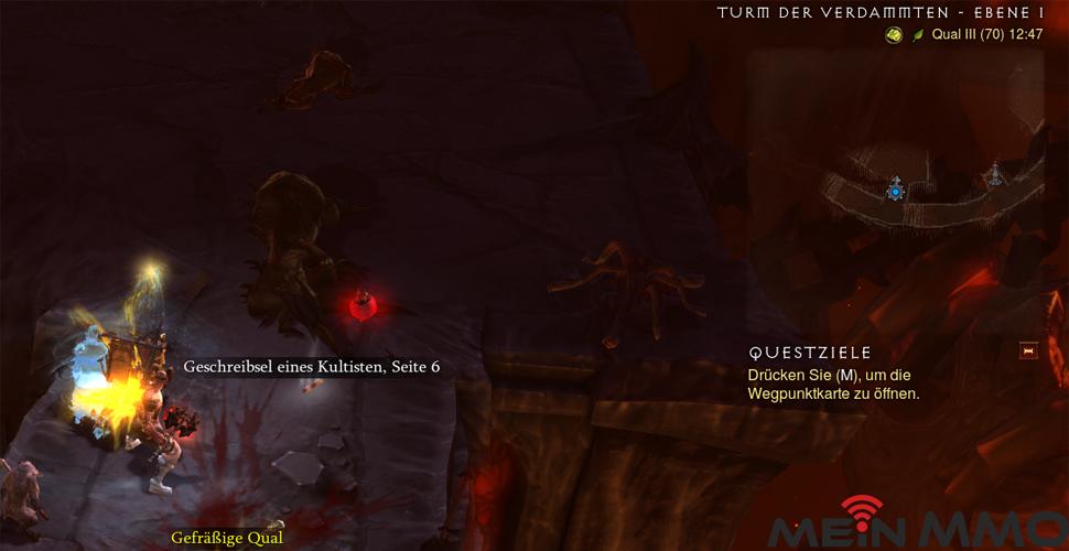 Diablo 3 Geschreibsel Fundort