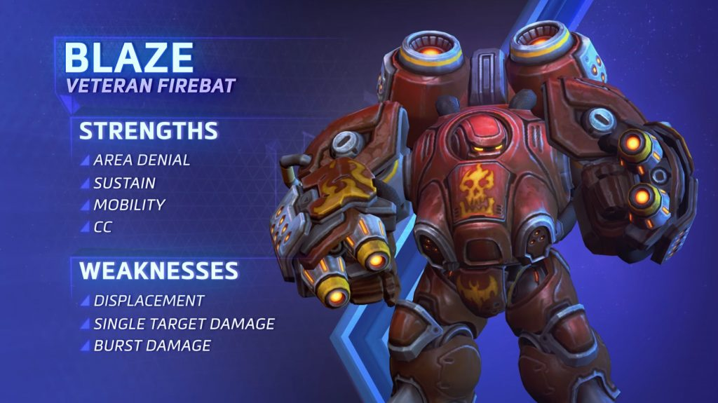Heroes of the Storm Blaze Overview