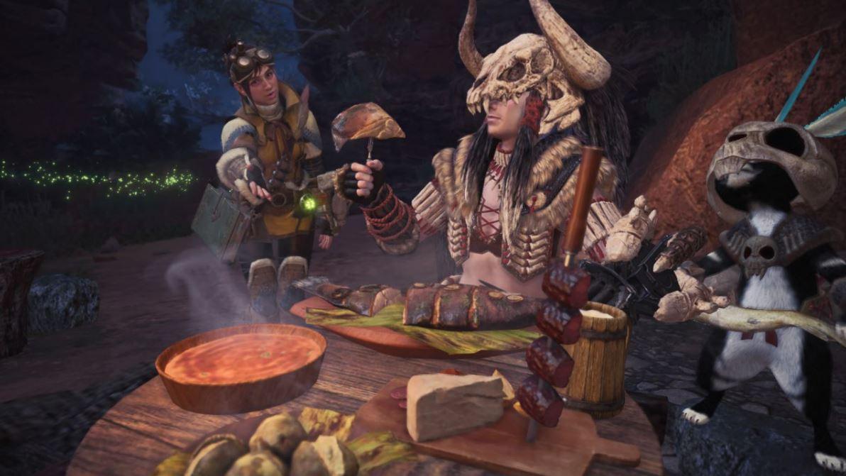 Monster-Hunter-World-Mahlzeit