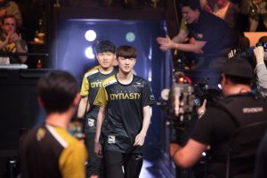 Overwatch League Seoul Dynasty Fleta Entering the Arena