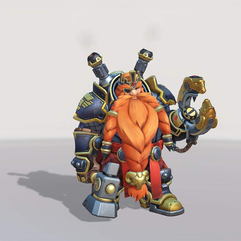 Overwatch Magni Bronzebeard Torbjörn