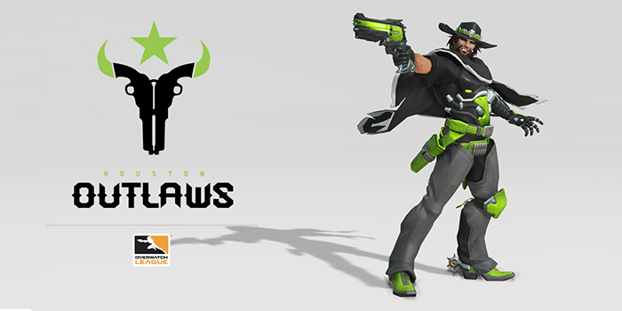 Overwatch Outlaws McCree Skin