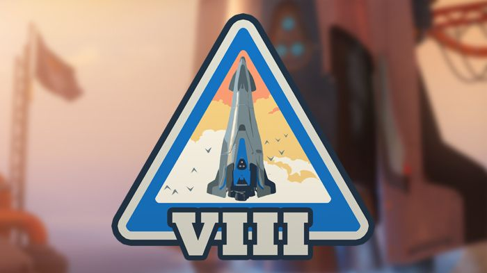 Overwatch Season 8 Logo Win