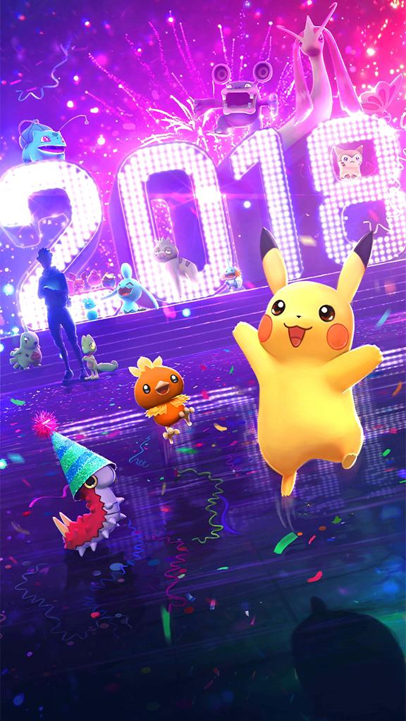 Pokémon GO 2018 Screen