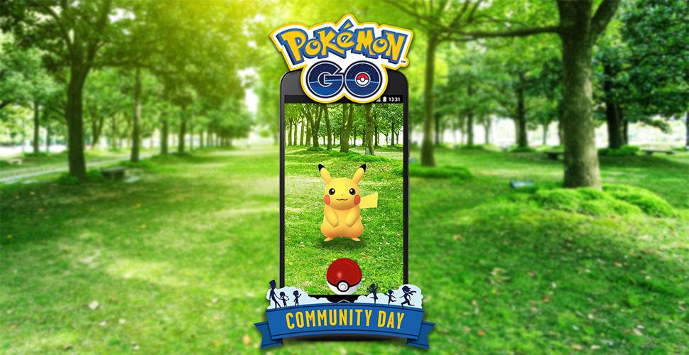 Pokémon GO Com Day Titel