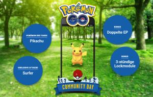 Pokémon GO Comm-Day Januar