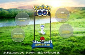 Pokémon GO Community Day 2 mit Attacke