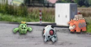 Pokémon GO Gen 3 Welle Titel
