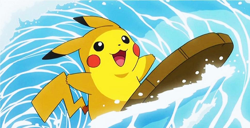 Pokémon GO Pikachu Surfer