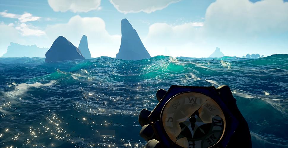 Sea of Thieves Wasser