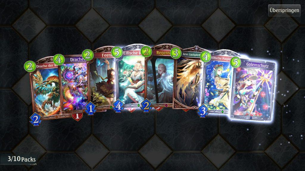 Shadowverse Card Pack