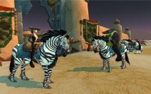 World of Warcraft Zhevra Werbt einen Freund ORc Blutelf