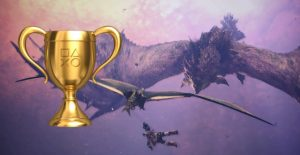 Monster Hunter World Trophäe