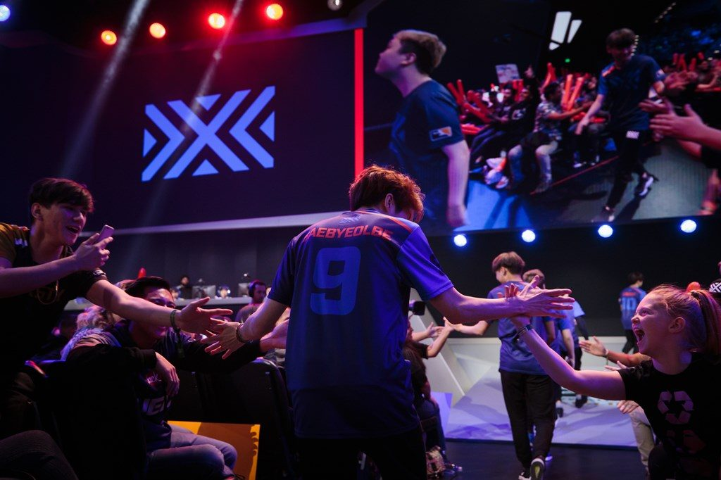 Overwatch League New York Excelsior take the stage