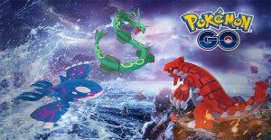 Pokémon GO Legendäres Trio Titel