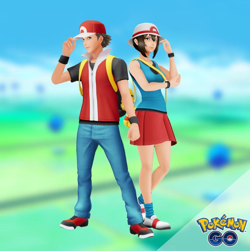 Pokémon GO Retro Outfits