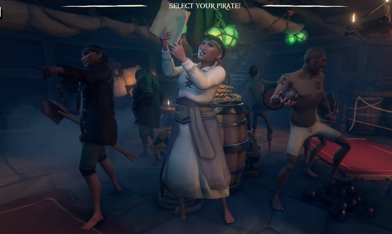 Sea of Thieves Piraten Rotation