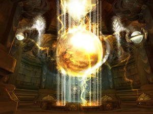 WOrld of Warcraft Ulduar Energiequelle Artwork