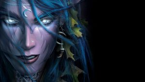 Warcraft 3 Night Elf Tyrande