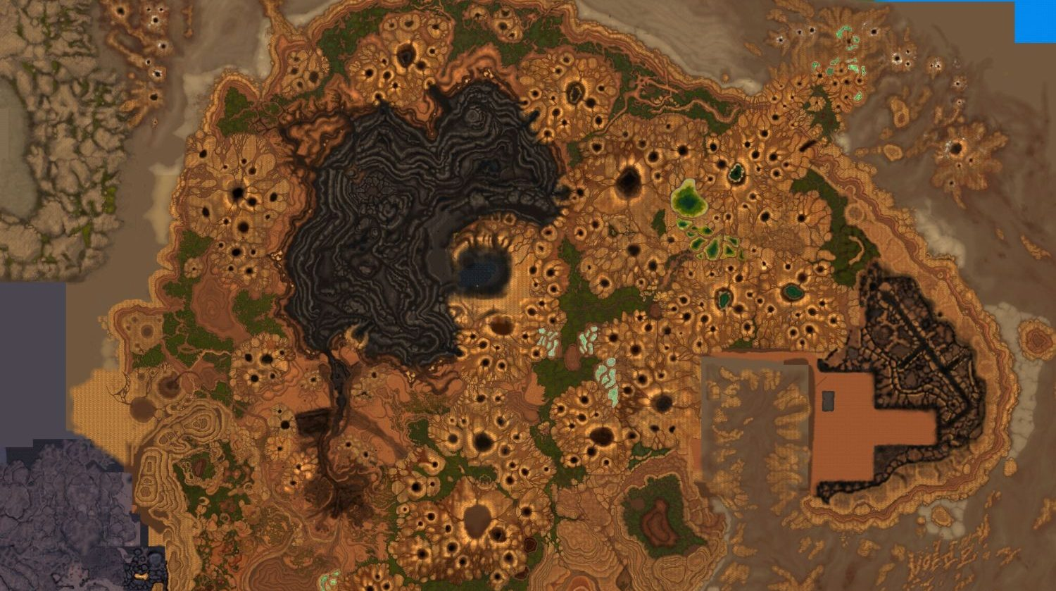 WoW Maghar New Gorgrond Map