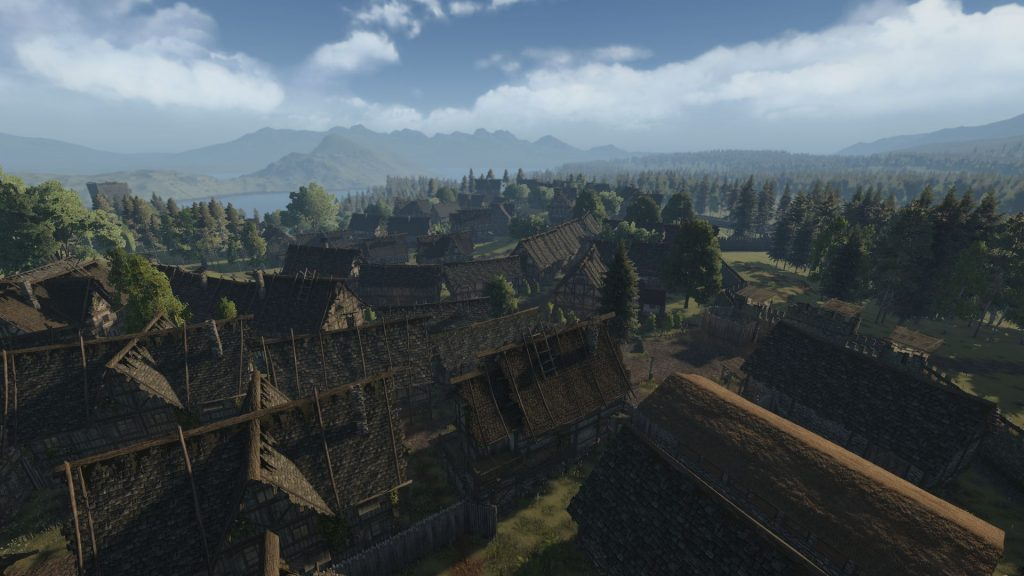 Life is Feudal MMO Kleine Stadt Dorf