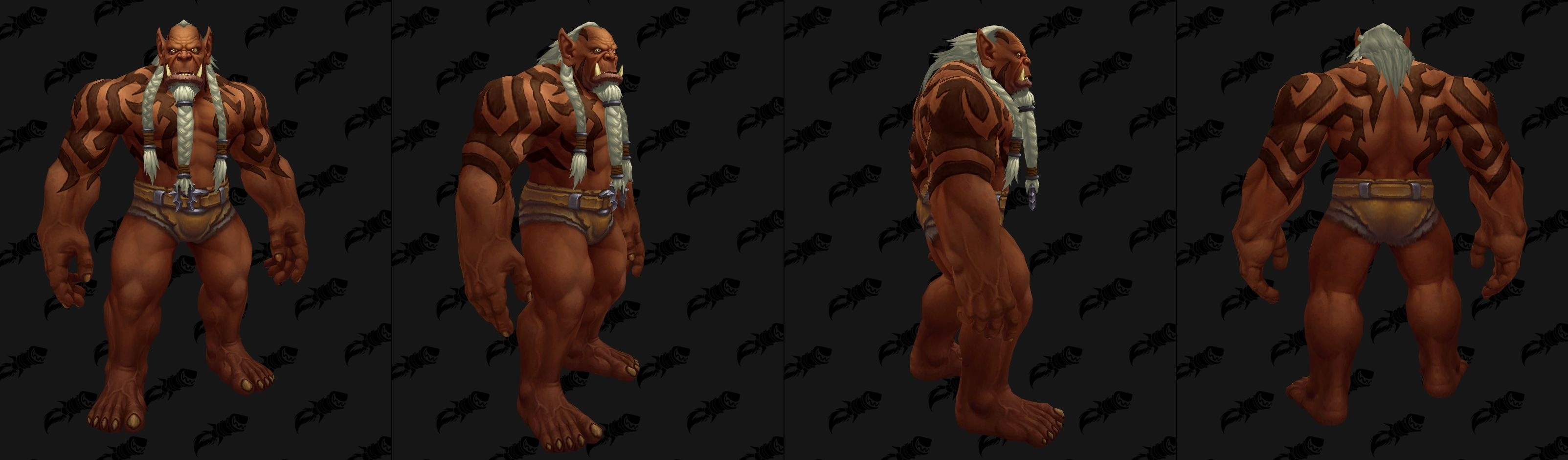 WoW Upright Orcs brown