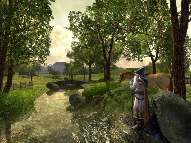 Gandalf in Herr der Ringe Online