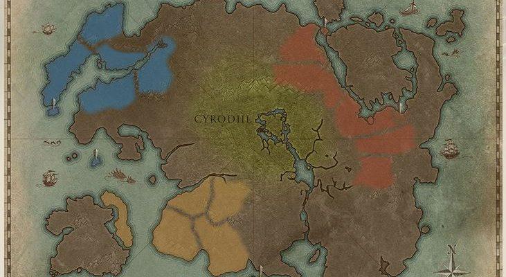 TESO: Die neue interaktive Karte von Tamriel