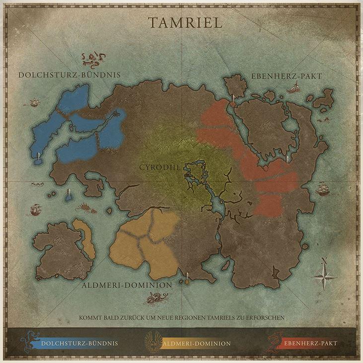 TESO Interaktive Karte